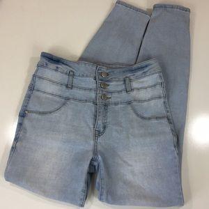 Refuge High Waisted Skinny Jeans Sz 6